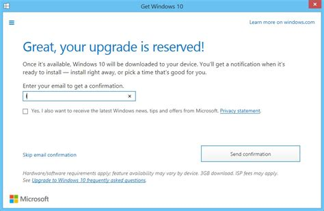 reserve your free copy of how to register for free windows 10 upgrade
