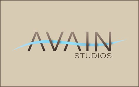 tutorial logo text avian studios logo photoshop tutorials