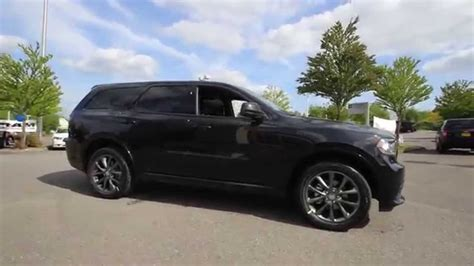 jeep durango blacked out 2014 dodge durango sxt black ec503436 everett
