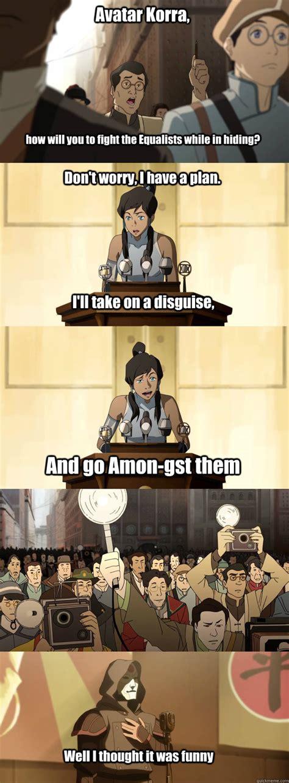 Legend Of Korra Memes - legend of korra funny memes