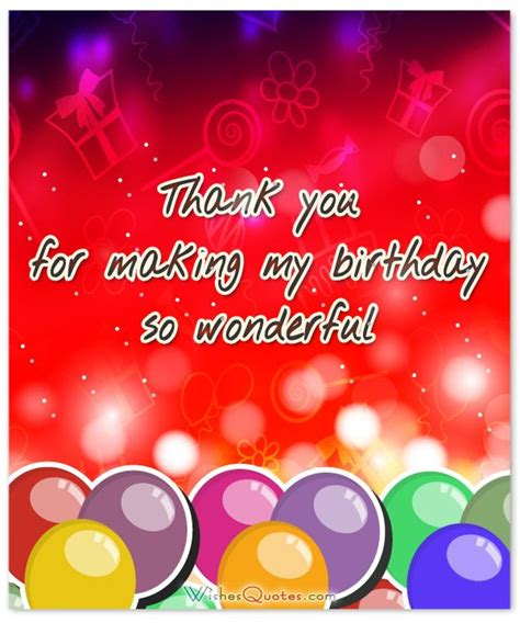Thank You Card For Birthday Wishes 25 Best Ideas About Thank You Messages On Pinterest