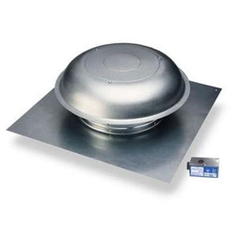 master flow 1000 cfm power roof mount vent in mill pr1d