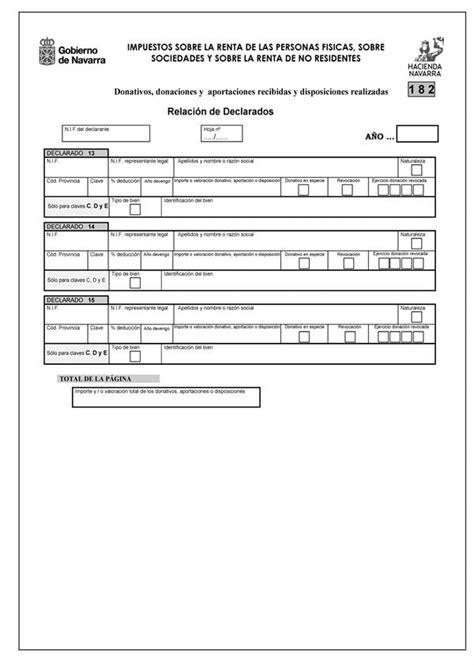 declaracion renta 2015 navarra orden foral 8 2013 de 18 de enero de la consejera de