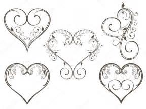vector illustration vintage design heart shape valentine stock vector 169 alliesinteract