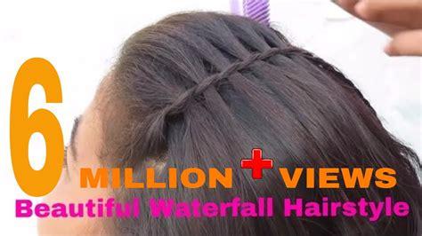 hairstyles hair beautiful waterfall hairstyle simple hairstyle vohairblog