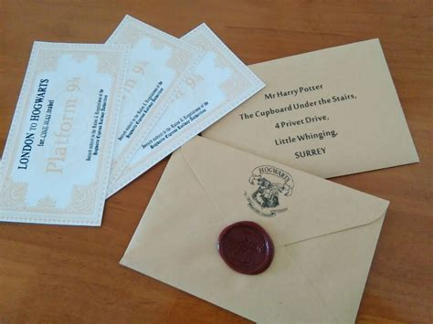 aliexpress buy acceptance letter hogwarts gift for hp fans hogwarts acceptance letter with
