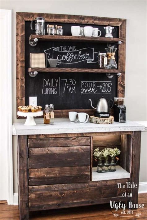 charming coffee station design ideas for starting your day off right style motivation