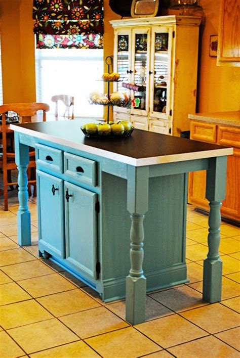 build  kitchen island  stock cabinets