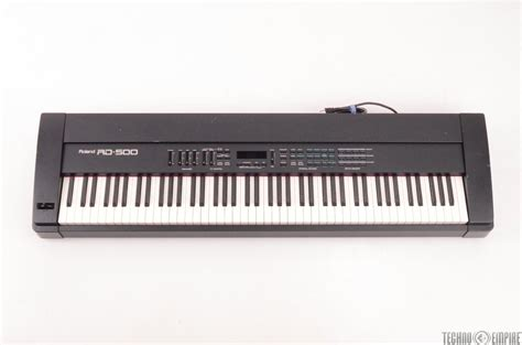 Keyboard Roland Rd roland rd 500 88 key weighted keyboard 27008 ebay