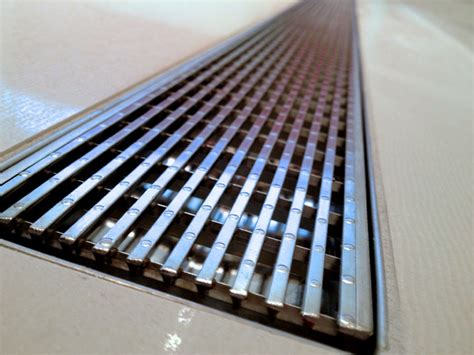 aco linear shower drains linear shower grate 1200mm 47