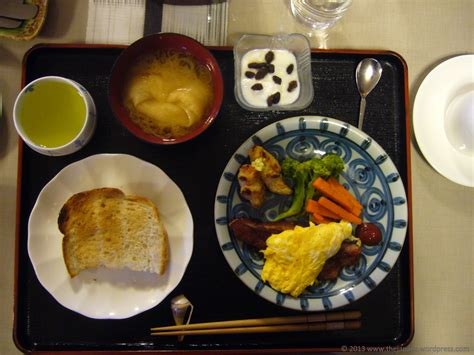traditional japanese breakfast the japans