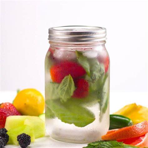 Jar Detox Water by Fruit Infused Detox Water 5 Ways Recipe Tiphero