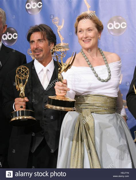 Al To Receive An Emmy by Al Pacino And Meryl Streep At The 56th Annual Emmy Awards