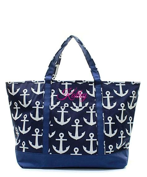 boat tote bag pattern personalized xl 23 quot oversized beach boat tote bag
