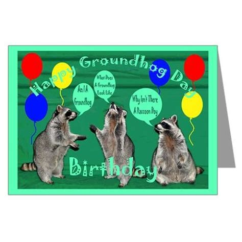 groundhog day greeting cards groundhog day birthday greeting card gifts