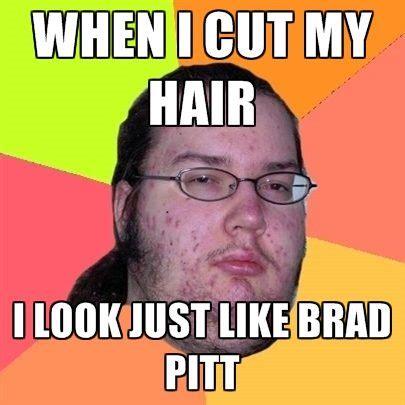 Brad Meme - calling brad pitt monger travels