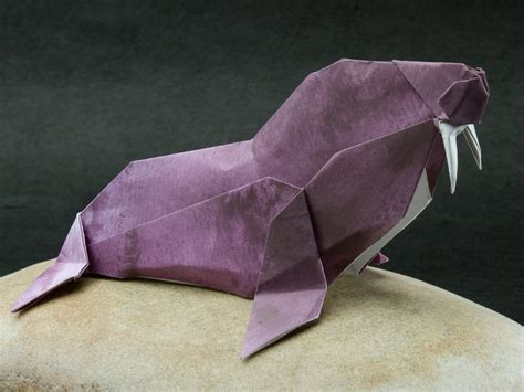 Origami Walrus - origami walrus wallpaper high definition high quality