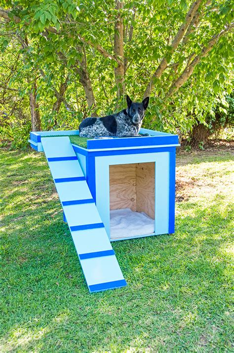 how to size a dog house how to make a dog house better homes and gardens