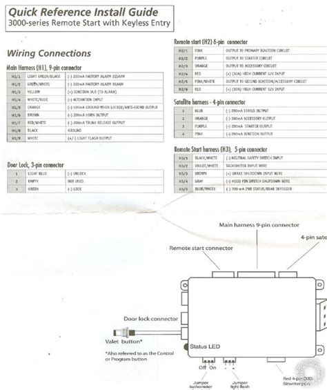 viper smartstart wiring diagram viper 5301 wiring diagram
