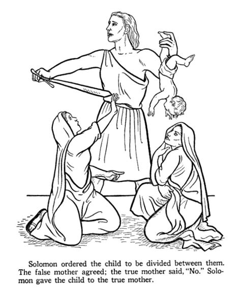 king solomon bible page to color 019 27 best solomon crafts images on pinterest bible crafts