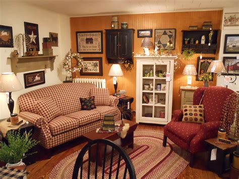 primitive living room kreamer brothers furniture country furniture annville