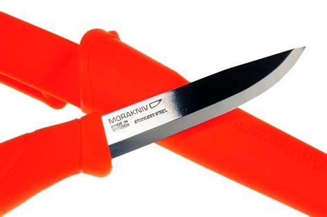 clipper knife mora 860 stainless clipper companion knife all orange ff