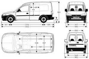 Vauxhall Combo Load Length Vauxhall Combo Load Dimensions