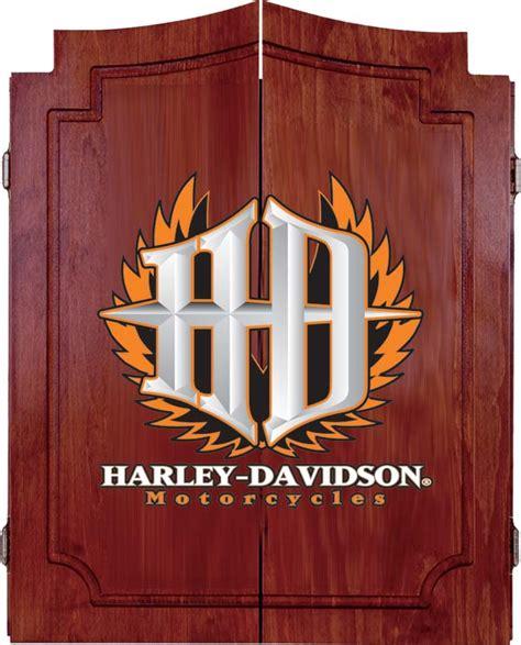 harley davidson electronic dart board cabinet harley pine cabinets