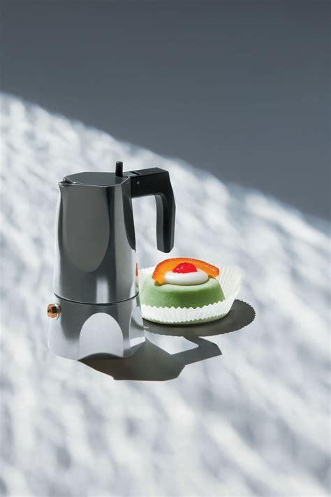 alessi kaffeebereiter ossidiana fasst 3 tassen alessi italienischer