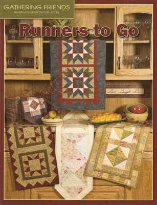 runners to go pattern book gathering friends quilt shop
