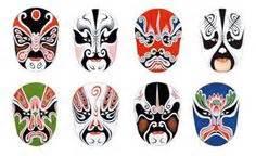kabuki mask template chang e 3 masks and paintings on