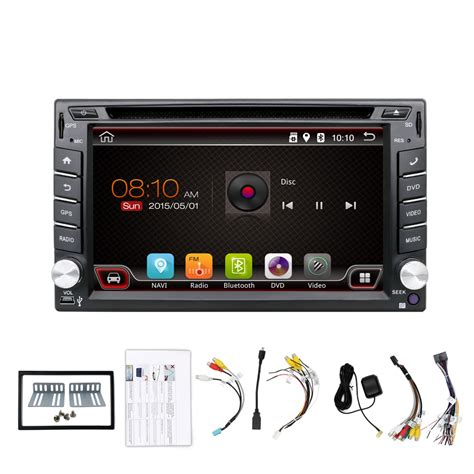 android din android auto radio kccartech bx 410 dvd