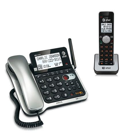 at t cl84102 dect 6 0 1 9ghz expandable wall digital