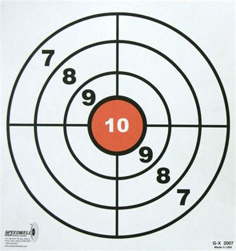 printable circle targets 139 best images about targets on pinterest rifles guns