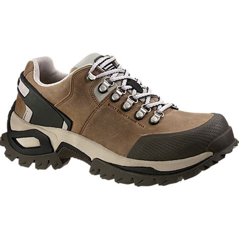 Sepatu Boots Caterpillar Bishop Steel Toe Brown Safety Ujung Besi cat p89669 jpg