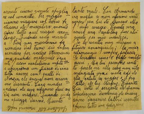 lettere pavia lettere dal fronte antonio naticchioni scrive da bressana