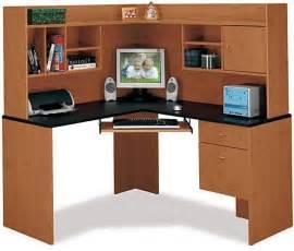 Cheap Hutches For Sale Bush Hm38410 Corner Desk And Hutch Centra Collection
