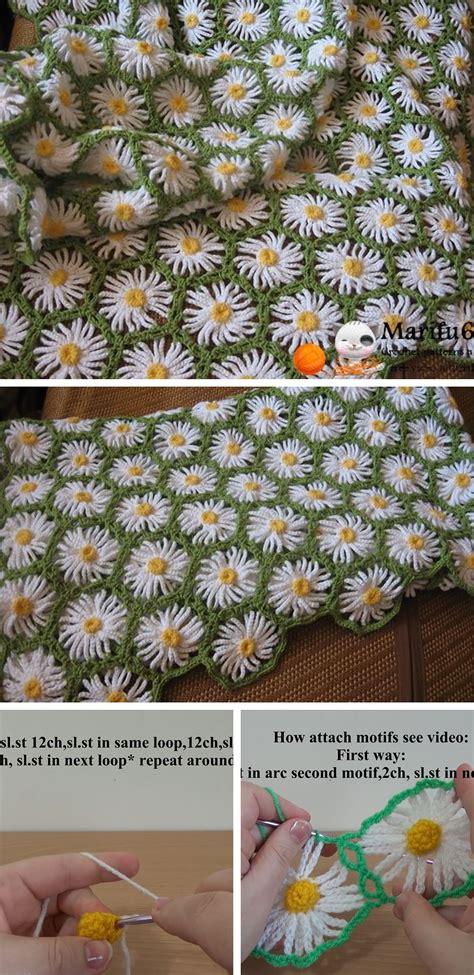 Crochet Patterns Crochet Blanket Pattern Tutorial crochet flower blanket pattern pakbit for