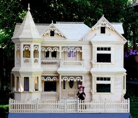 dolls house builder victorian barbie 174 house woodworking plan forest street