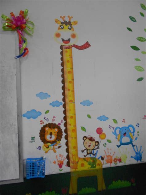Wallsticker Pengukur Tinggi Badan Anak Jerapah Ay831 catatan harian pendidik januari 2015