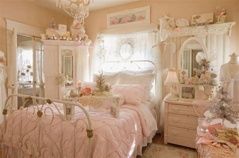 shabby chic bedroom sets shabby chic bedroom decor create your personal romantic 17044 | sweet shabby chic bedroom decor ideas metal bed frame white furniture pink bedding set