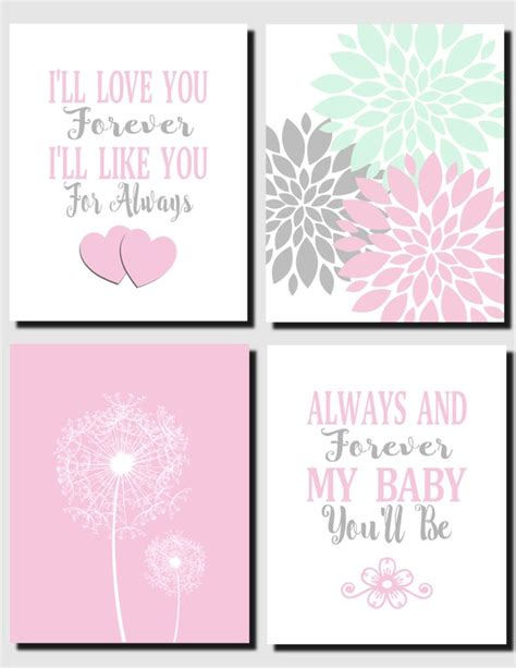 imagenes i love you forever 1000 images about girls room art decor on pinterest