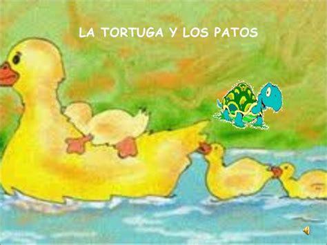 yoruga la tortuga y f 225 bula la tortuga y los patos
