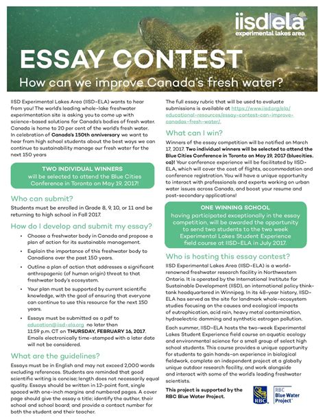 Essay Contests 2016 Canada essay contests 2016 canada bamboodownunder