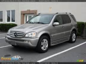 2005 Mercedes Ml 350 2005 Mercedes Ml 350 4matic Pewter Metallic