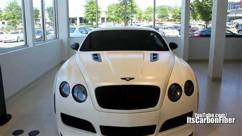 matte white bentley rare matte white platinum motorsports bentley continental