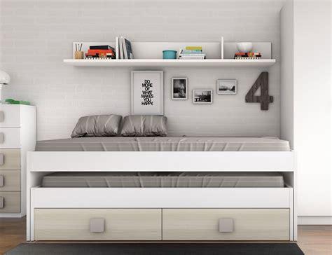 habitaciones juveniles cama nido camas nido juveniles algunas ideas ce colch 243 n expr 233 s