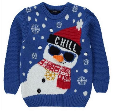 waitrose child christmas jumper children s jumpers including disney frozen reindeers and snowmen from asda primark