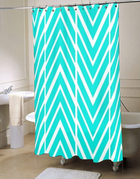 Bright Turquoise Curtains Bright Turquoise Shower Curtain Myshowercurtains