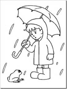 rainy day coloring pages preschool alphabet rainy days experiment